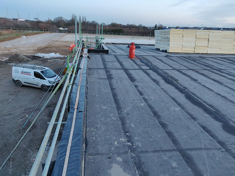 Eastleigh Sports Pavilion Professional Roofing Services